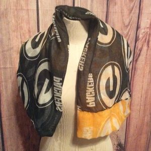 Accessories - Greenbay packers lightweight scarf